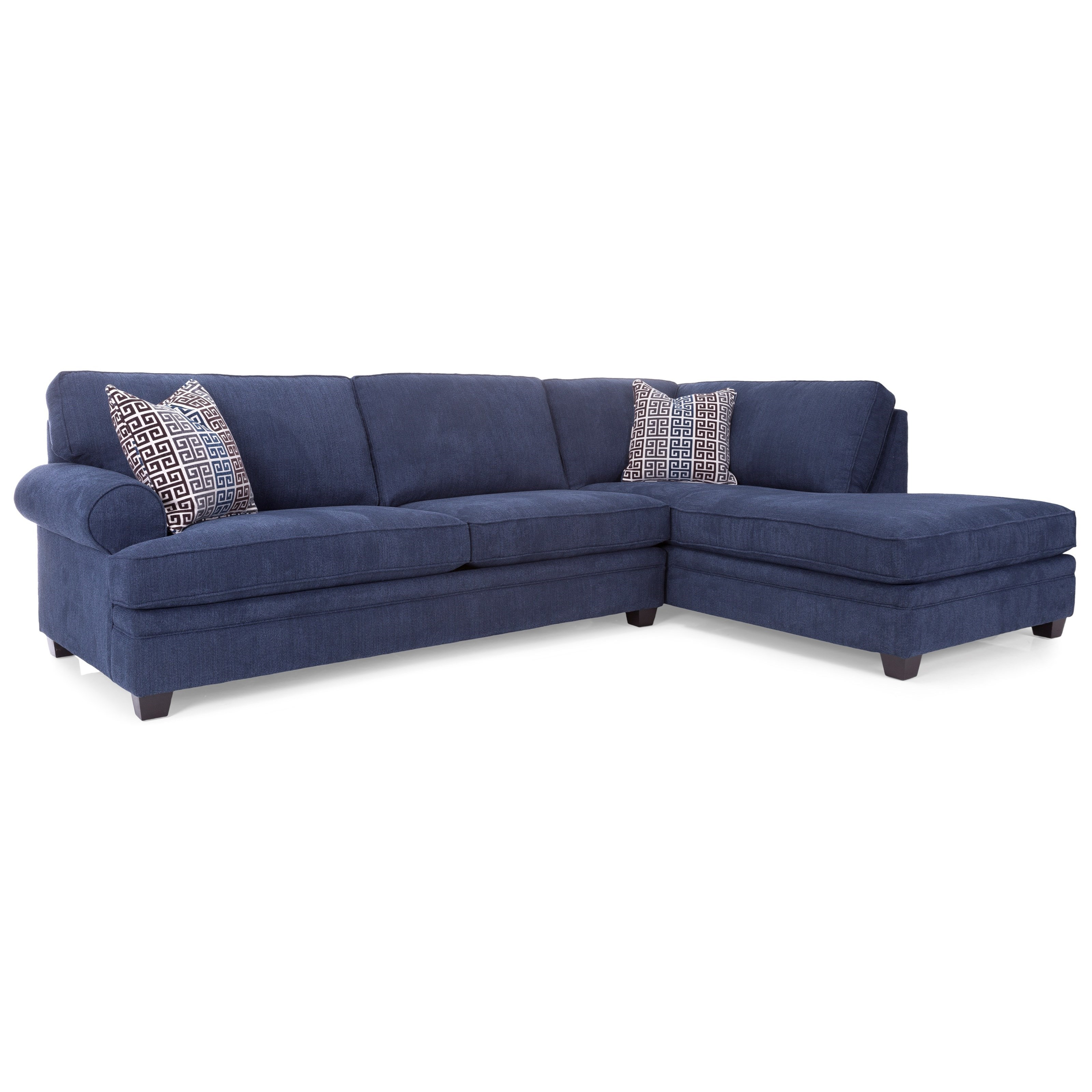 2695 Sofa with Chaise by Decor-Rest at Rooms for Less