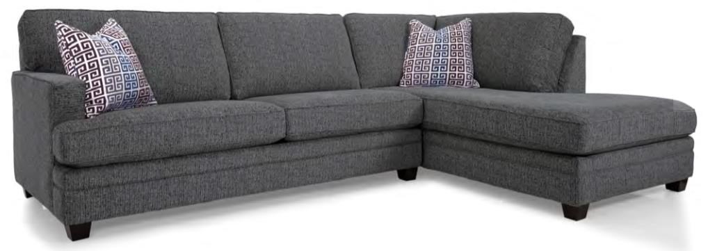 2696 Sectional Sofa by Decor-Rest at Rooms for Less