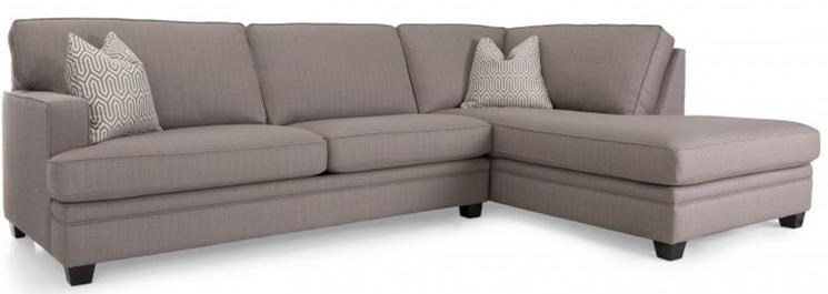 2696 Sectional Sofa by Decor-Rest at Johnny Janosik