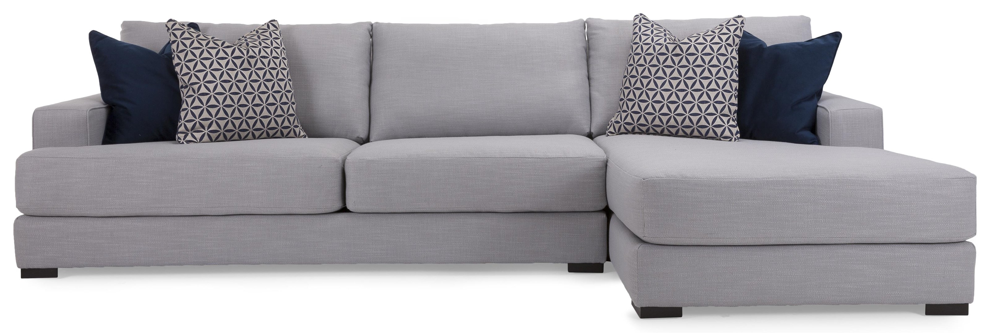 Zale Sectional by Taelor Designs at Bennett's Furniture and Mattresses