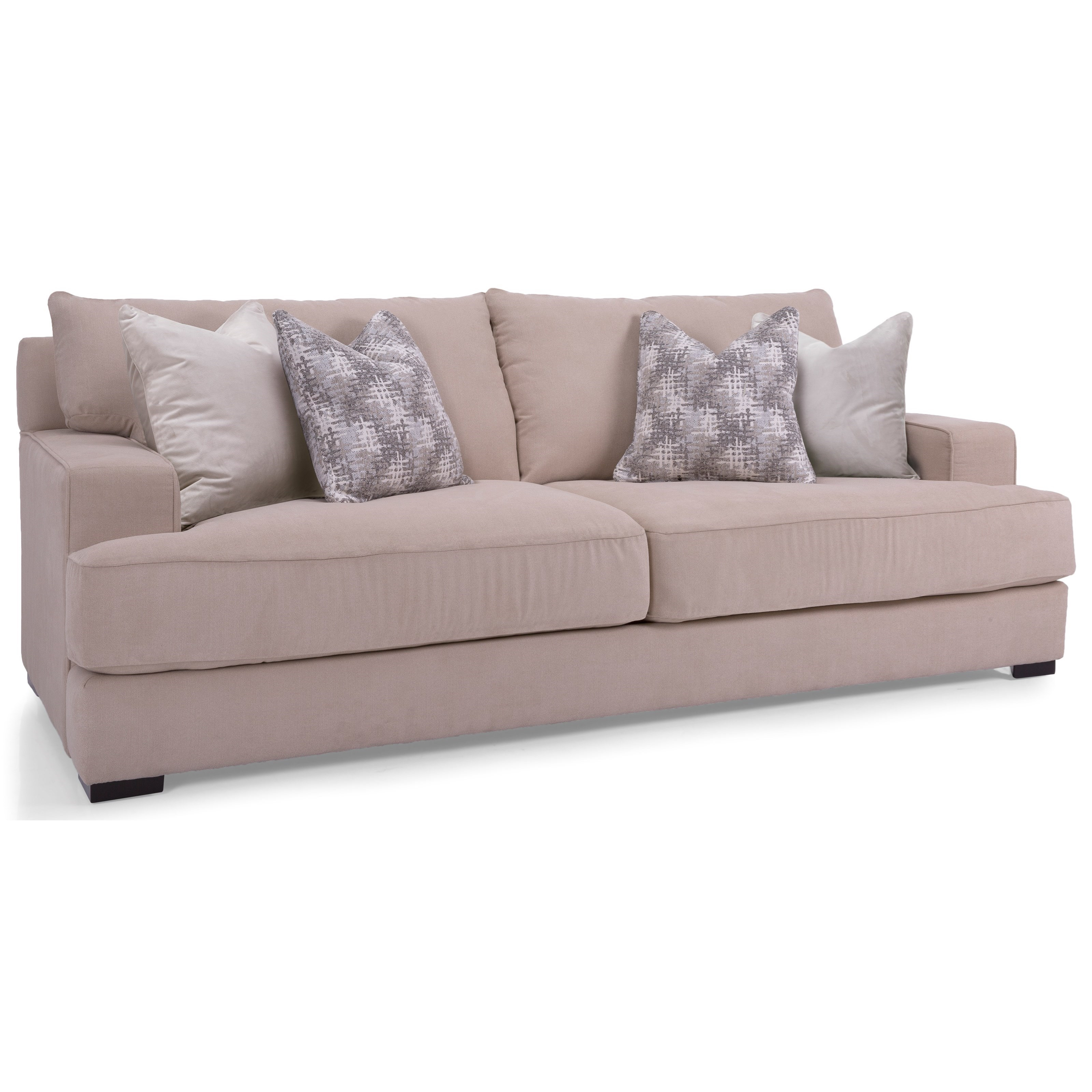 2702 Sofa by Taelor Designs at Bennett's Furniture and Mattresses