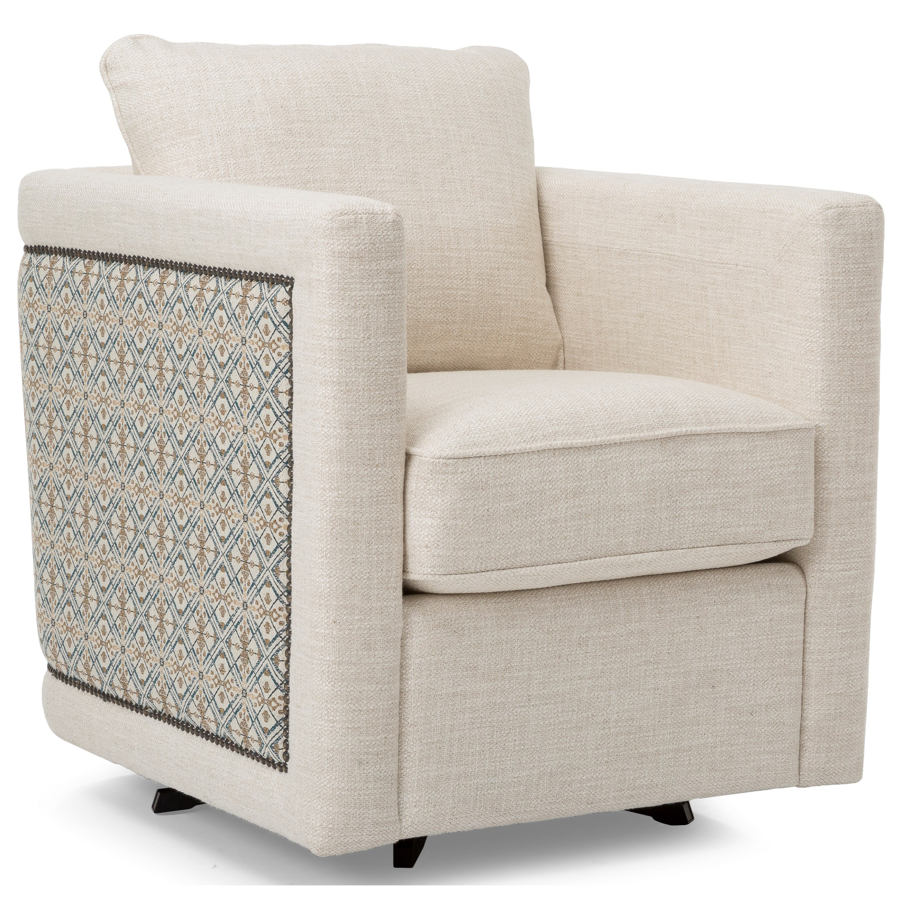 2760 Swivel Chair by Decor-Rest at Reid's Furniture