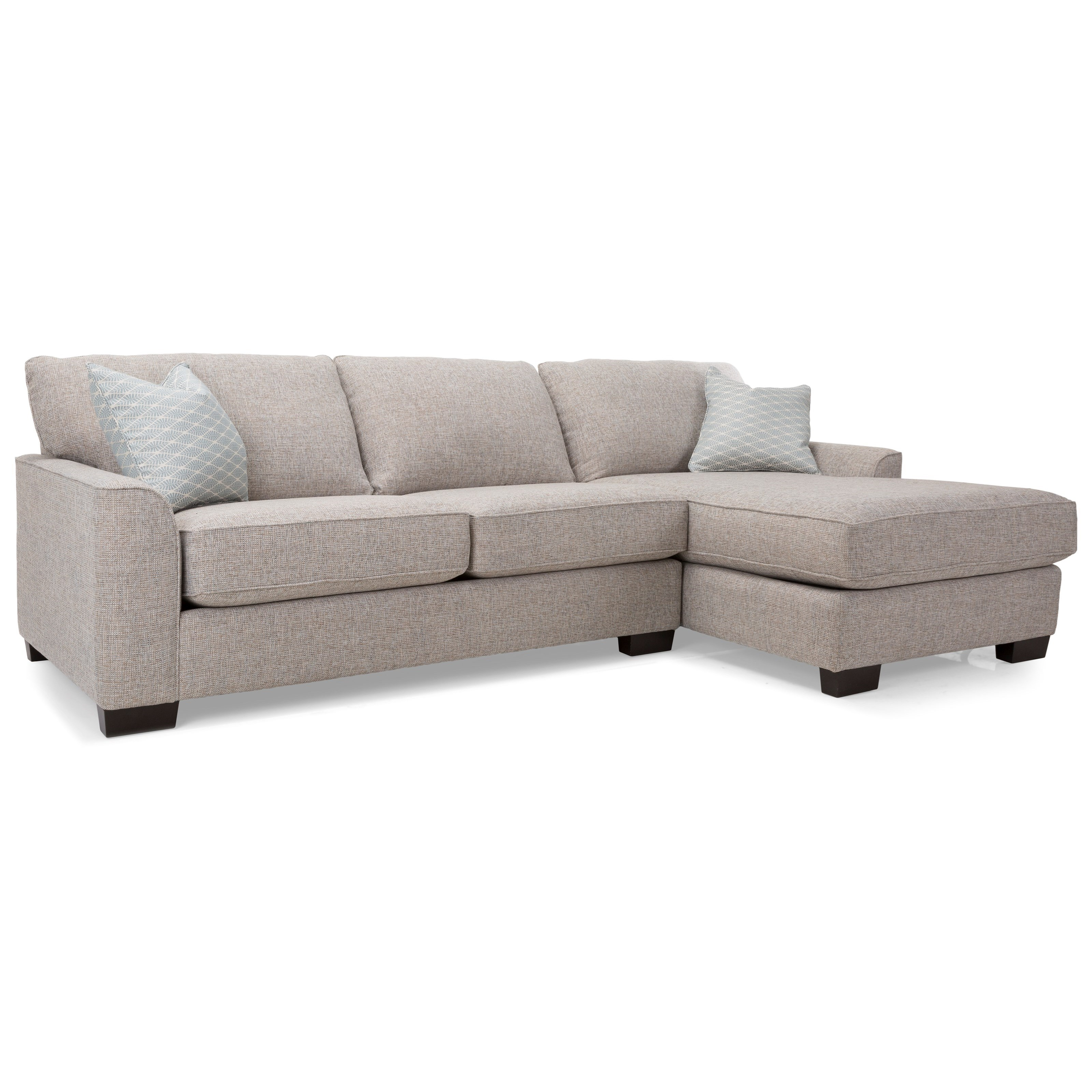 2786 Chaise Sofa Sectional by Decor-Rest at Rooms for Less