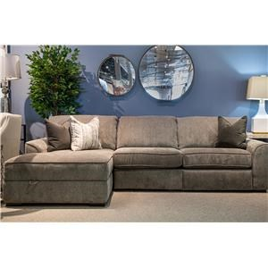 Reclining Sofa Sectional with Chaise and Storage