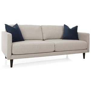 Contemporary 82 Inch Sofa