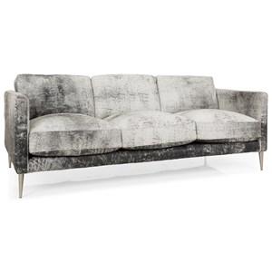 Contemporary 82 Inch Sofa