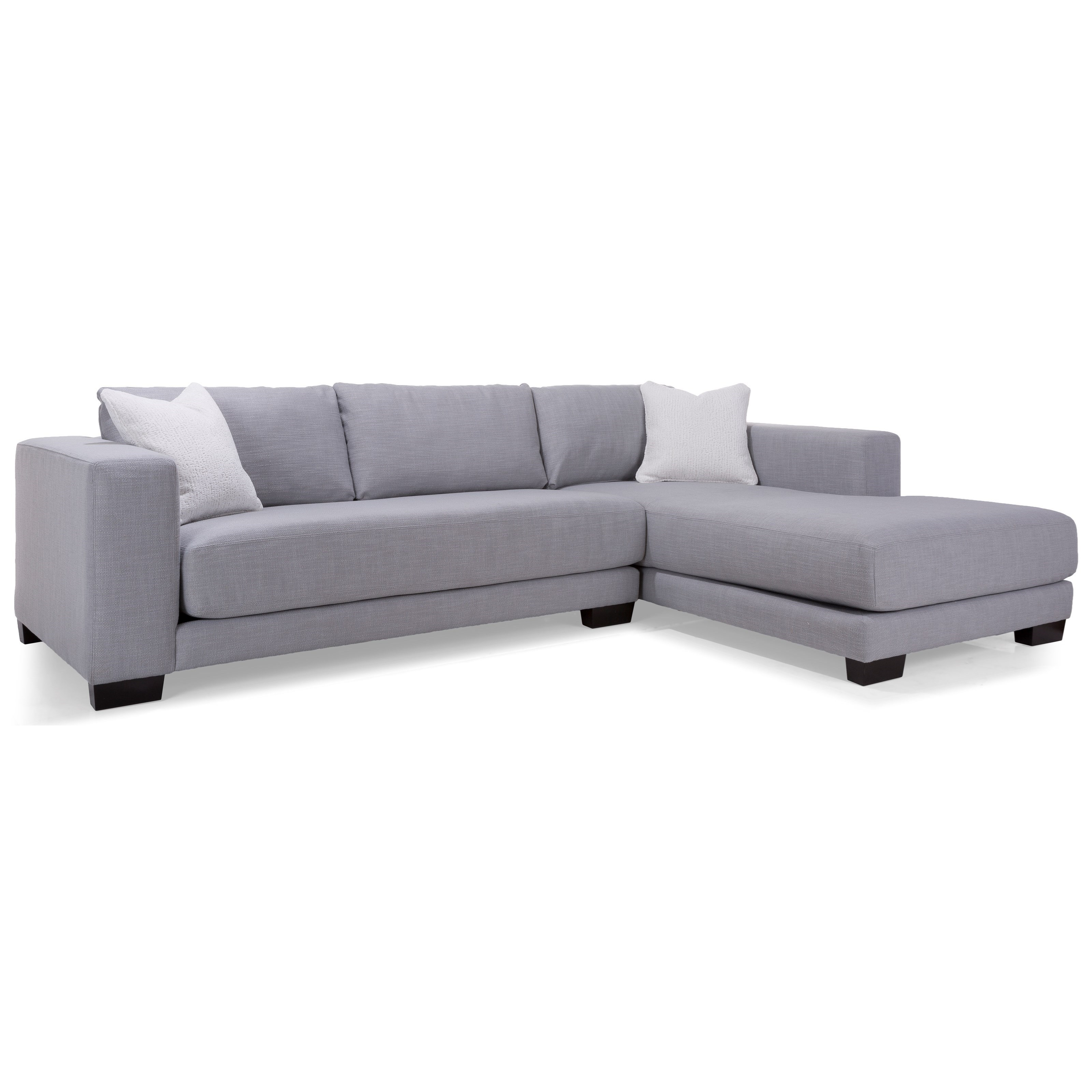 2802 Sectional Sofa by Decor-Rest at Upper Room Home Furnishings