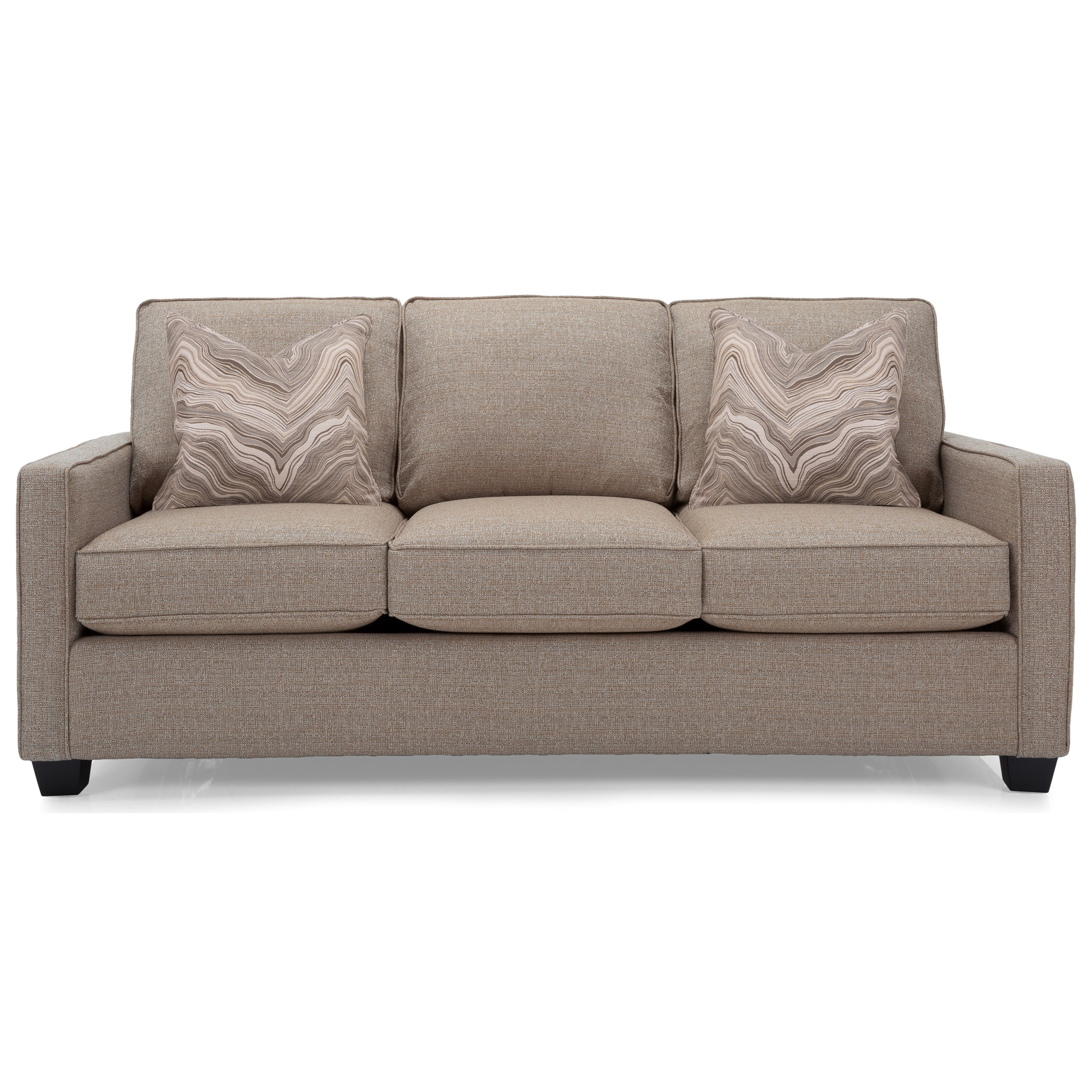 2855 Queen Sofa Sleeper by Decor-Rest at Rooms for Less