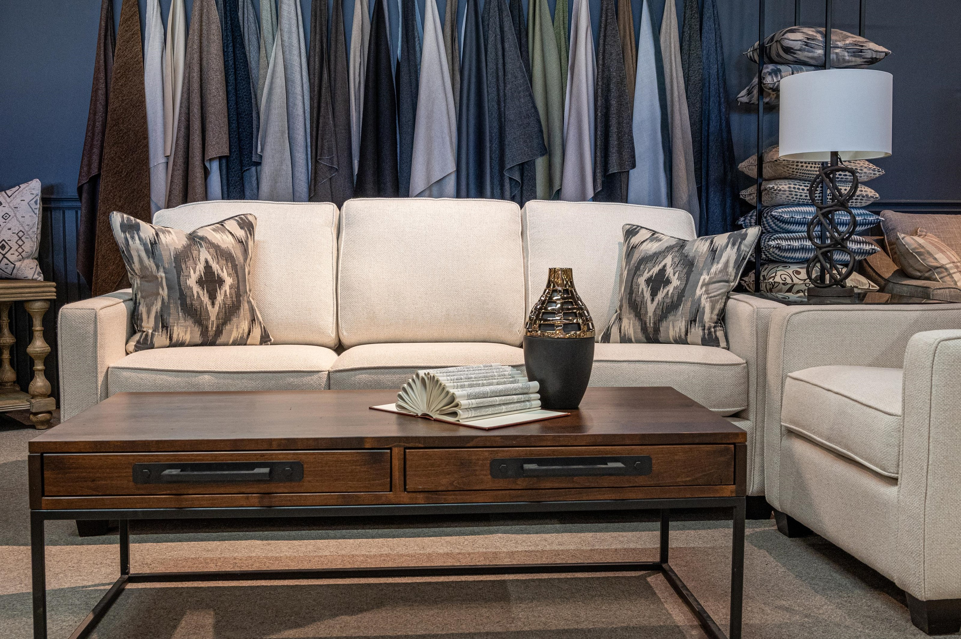 2855 Stationary sofa by Decor-Rest at Stoney Creek Furniture