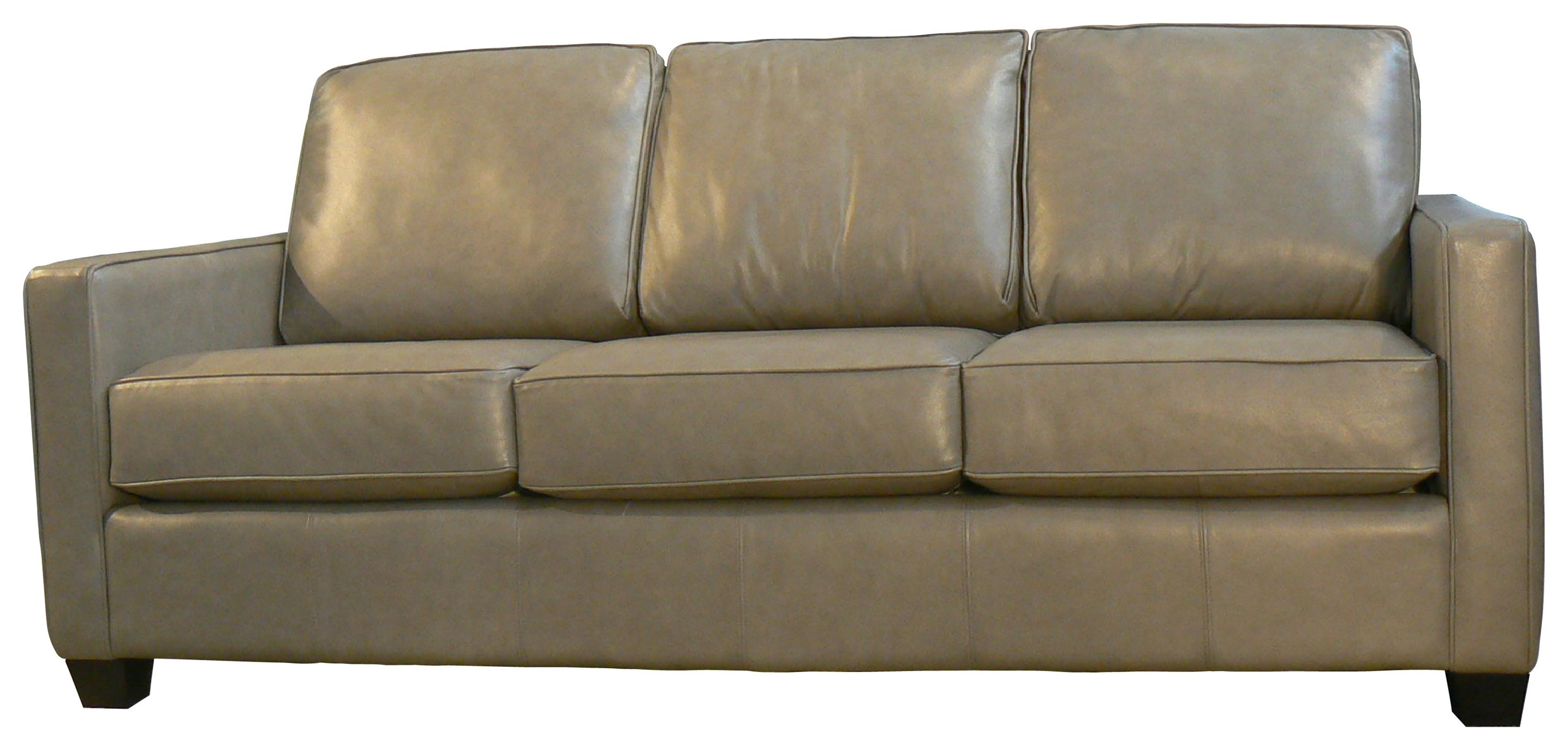 Lara Leather Sofa by Taelor Designs at Bennett's Furniture and Mattresses