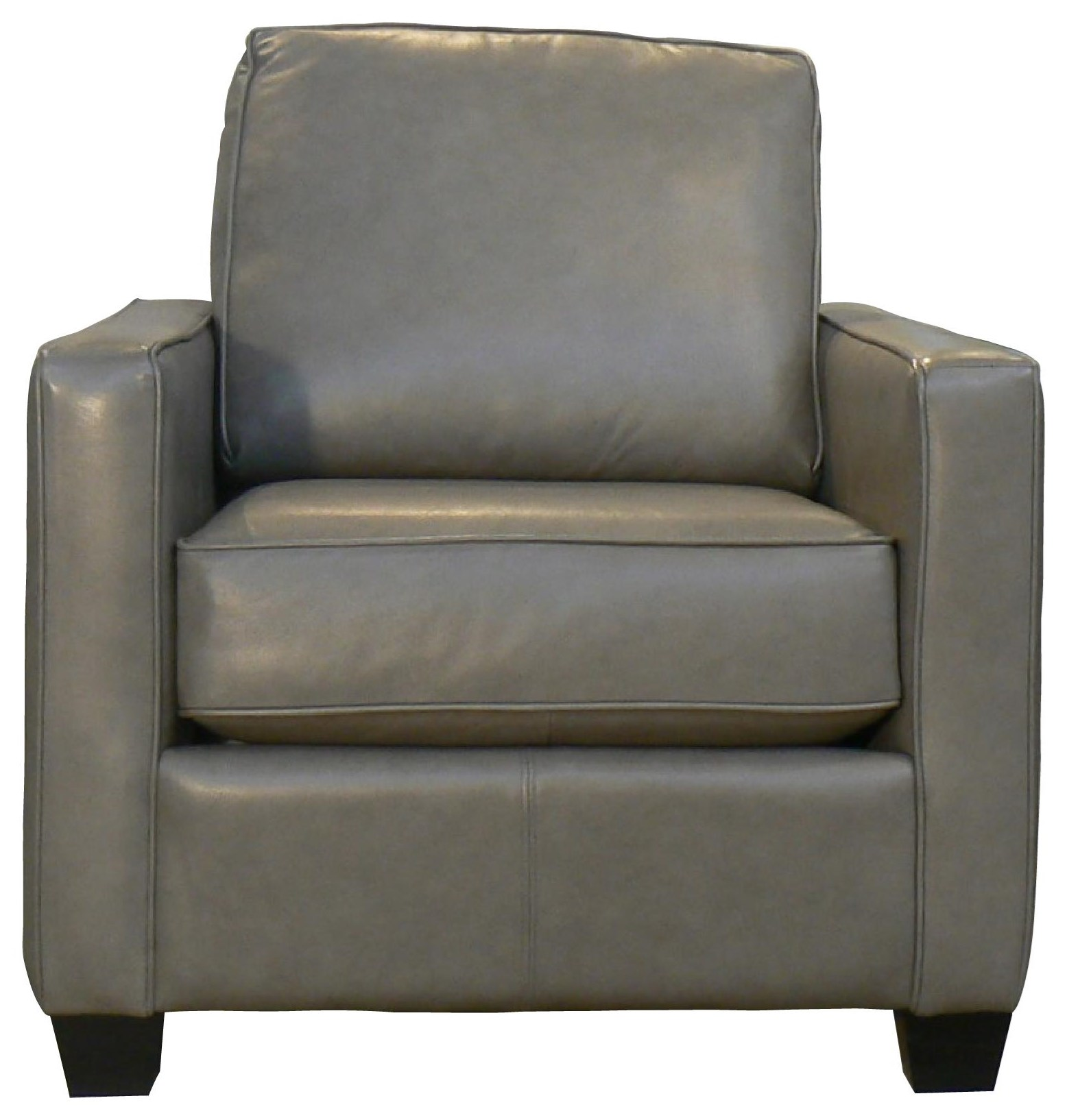 Lara Leather Chair by Taelor Designs at Bennett's Furniture and Mattresses