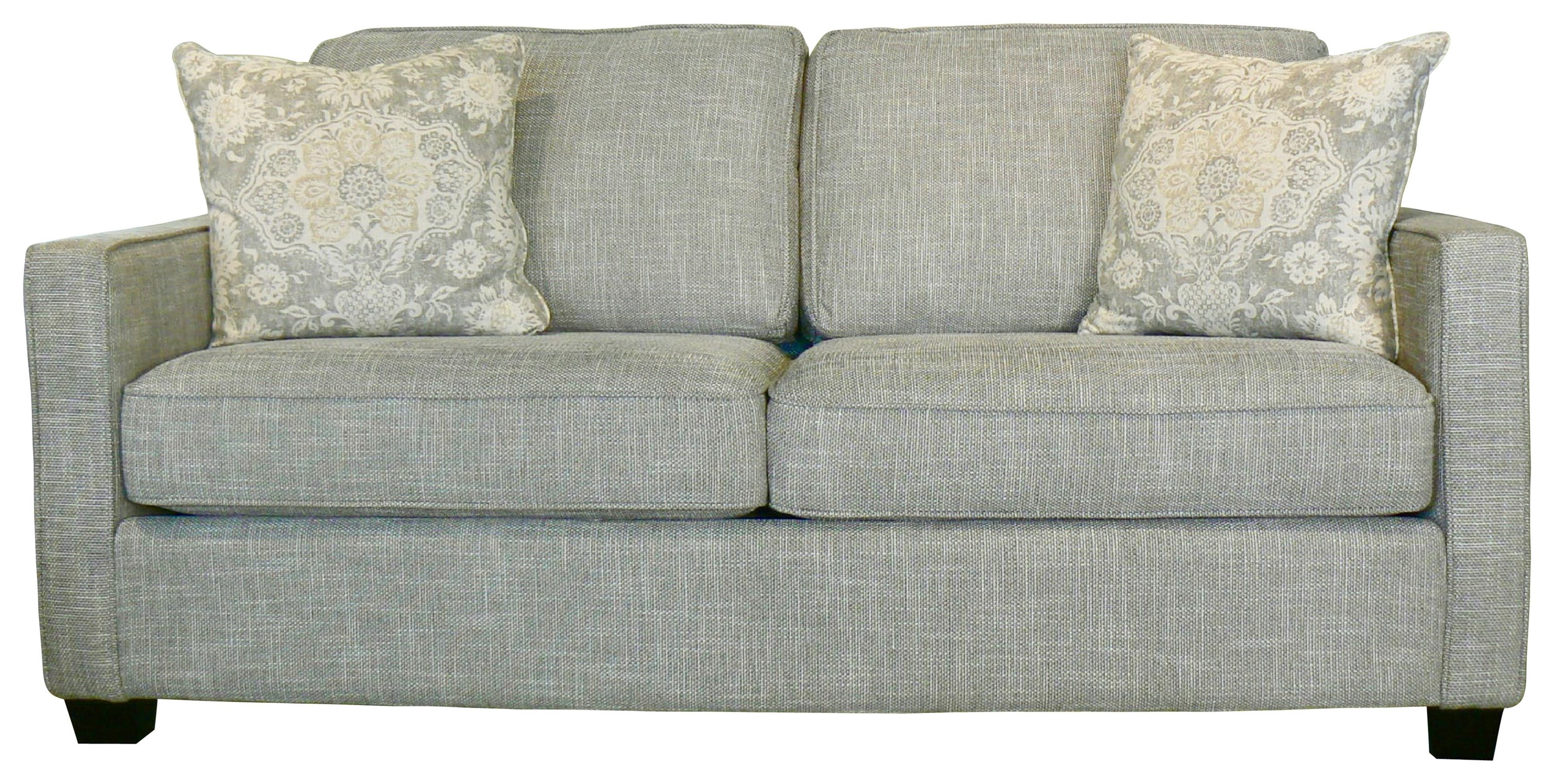 Lara Condo Sofa by Taelor Designs at Bennett's Furniture and Mattresses