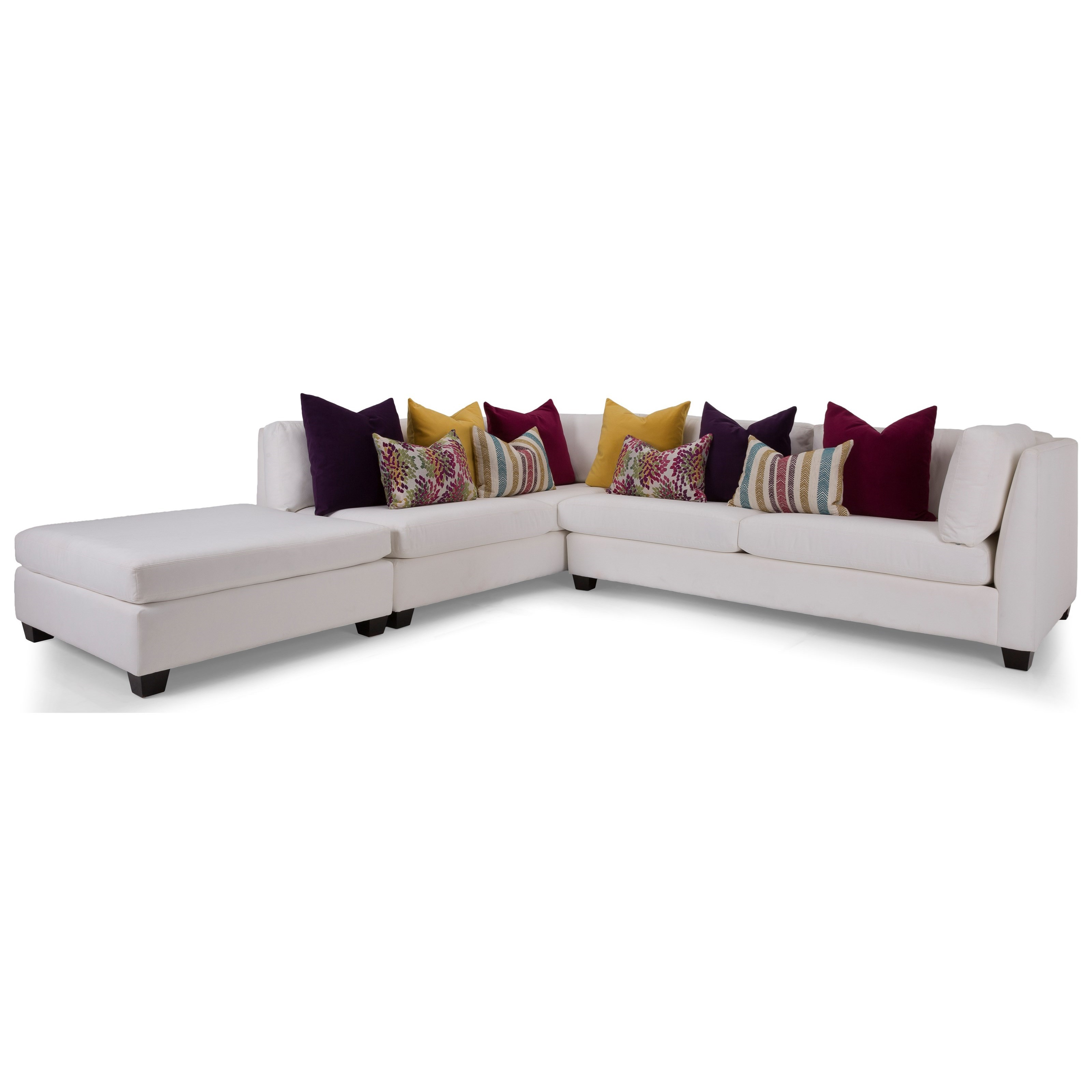 2875 Sectional Sofa by Decor-Rest at Rooms for Less