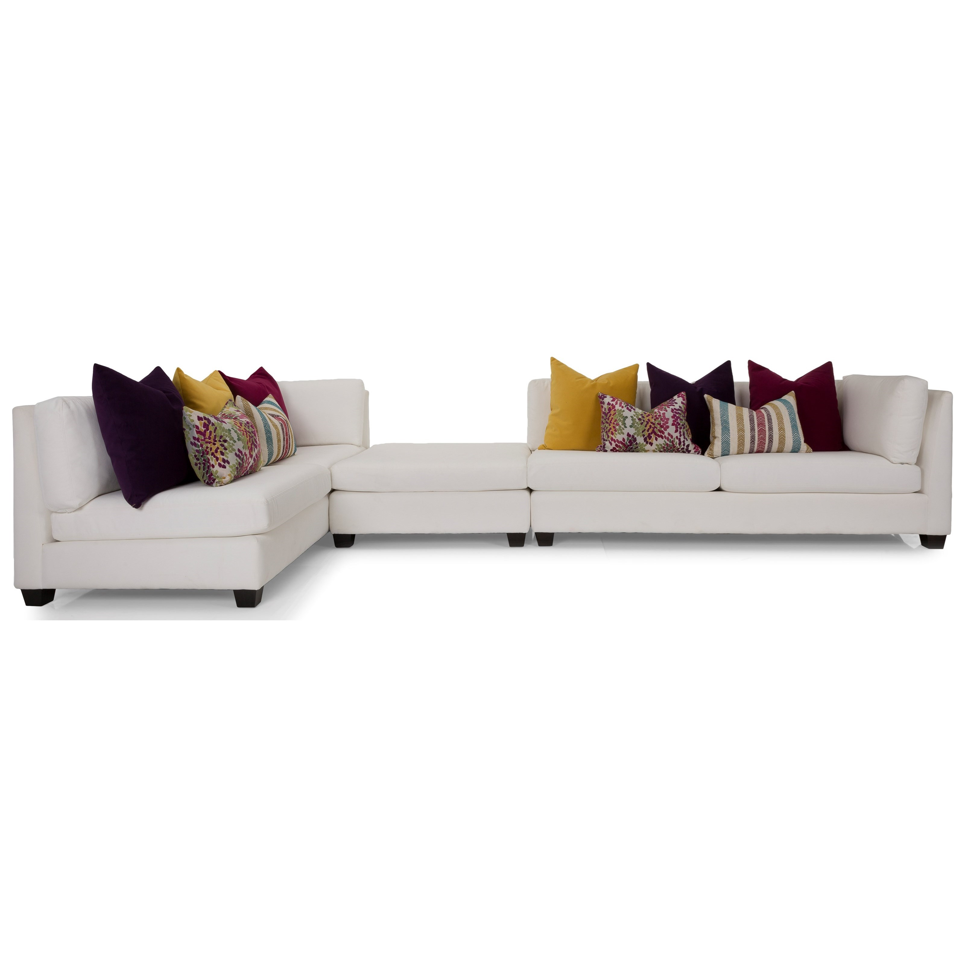 2875 Sectional Sofa by Decor-Rest at Wayside Furniture