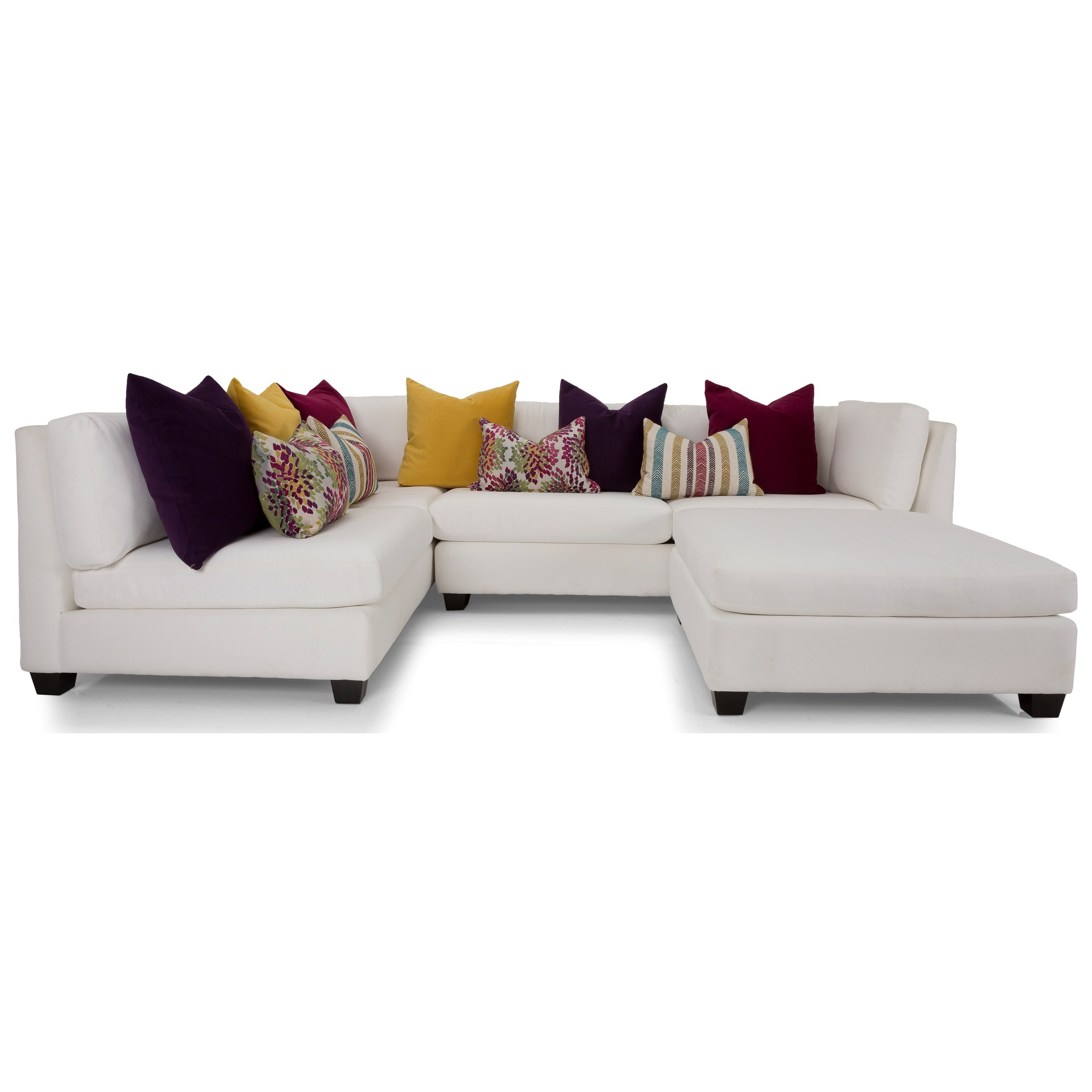2875 Sectional Sofa by Decor-Rest at Johnny Janosik