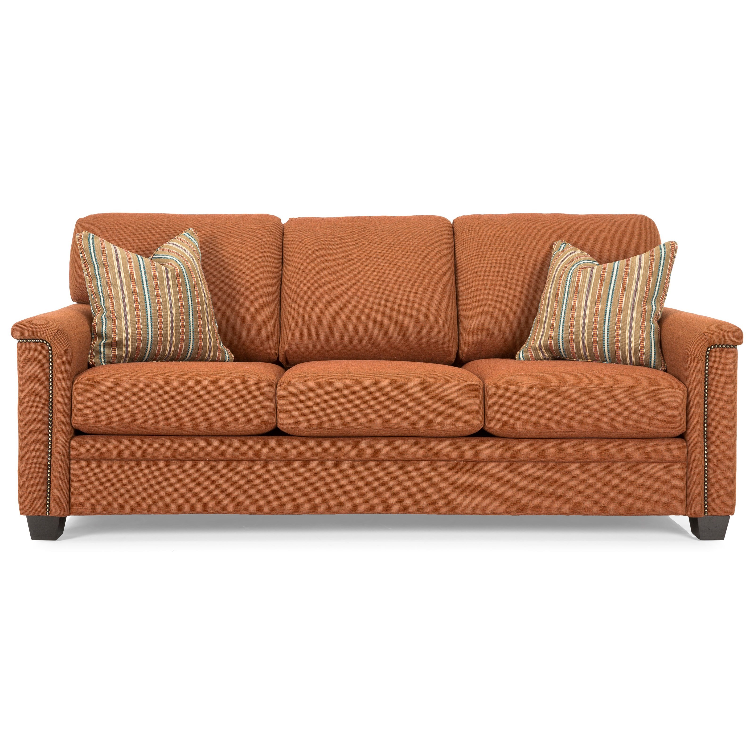2877 Sofa by Decor-Rest at Fine Home Furnishings