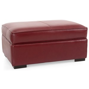 Contemporary Ottoman with Lift Top