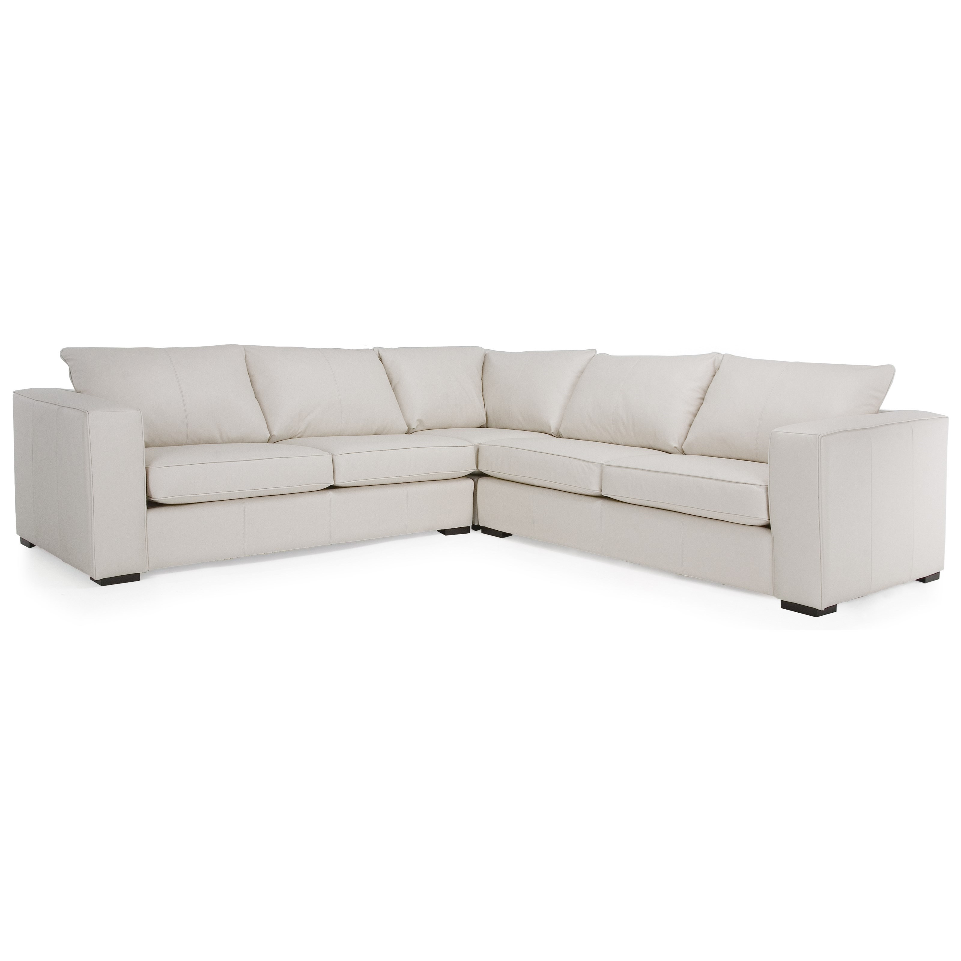 Braden Sectional Sofa by Taelor Designs at Bennett's Furniture and Mattresses