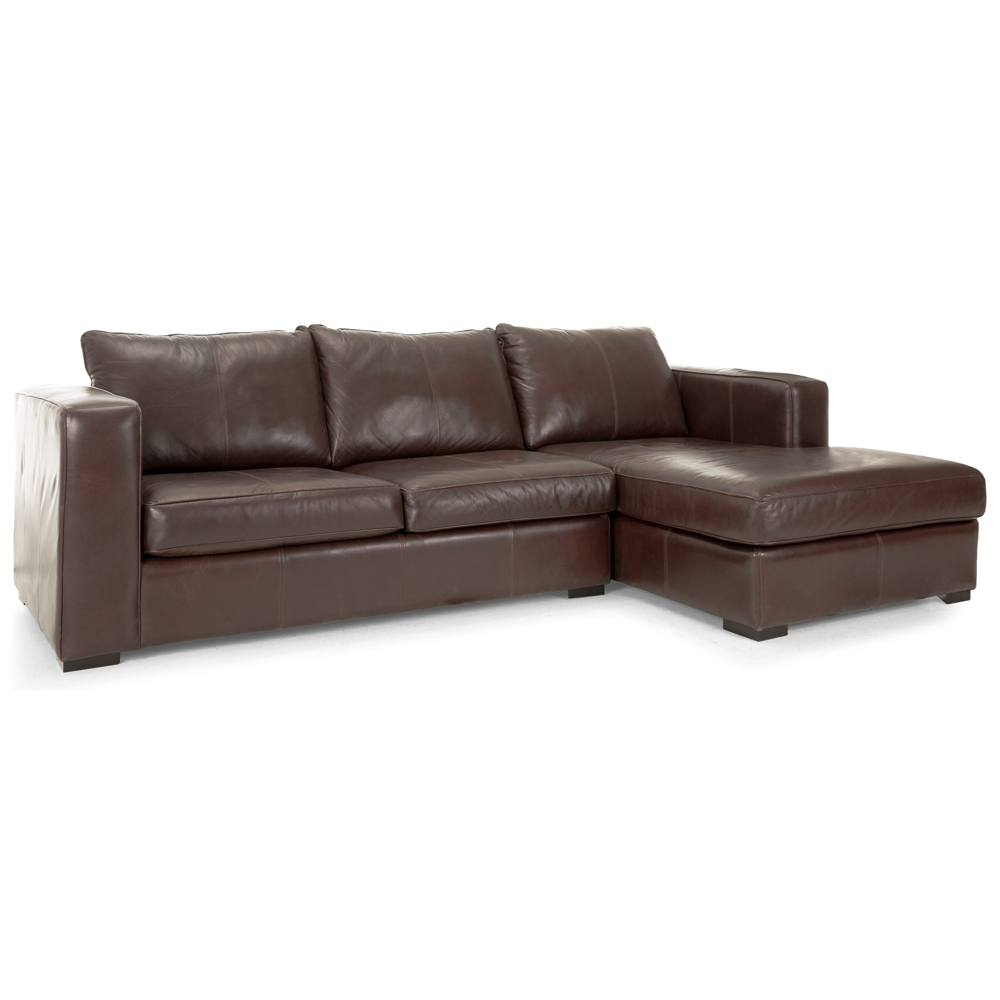 Braden Sofa with Chaise by Taelor Designs at Bennett's Furniture and Mattresses