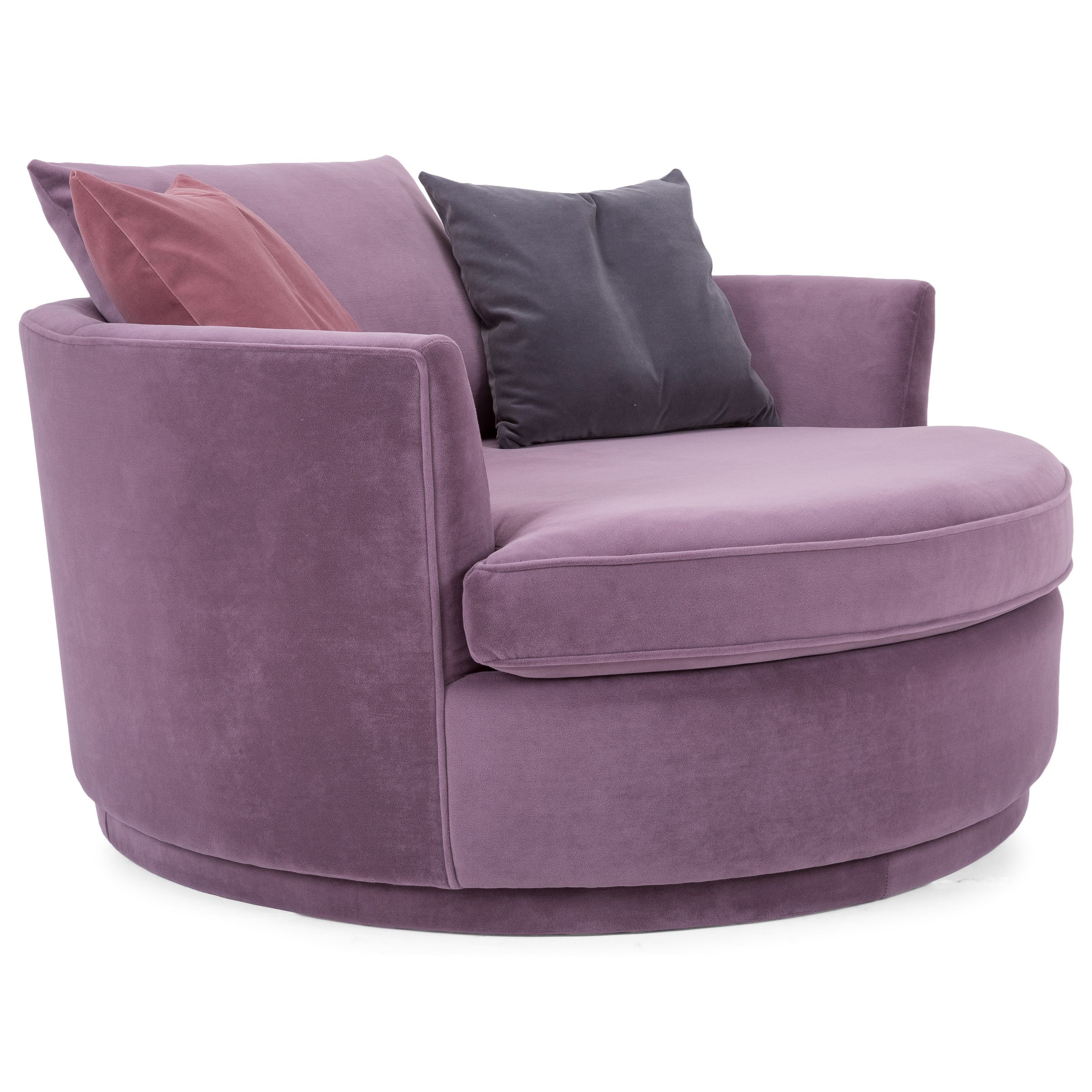 """2992 59"""" Swivel Chair by Decor-Rest at Wayside Furniture"""
