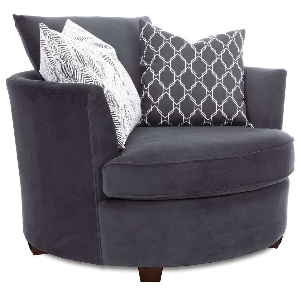 "2992 46"" Chair by Taelor Designs at Bennett's Furniture and Mattresses"