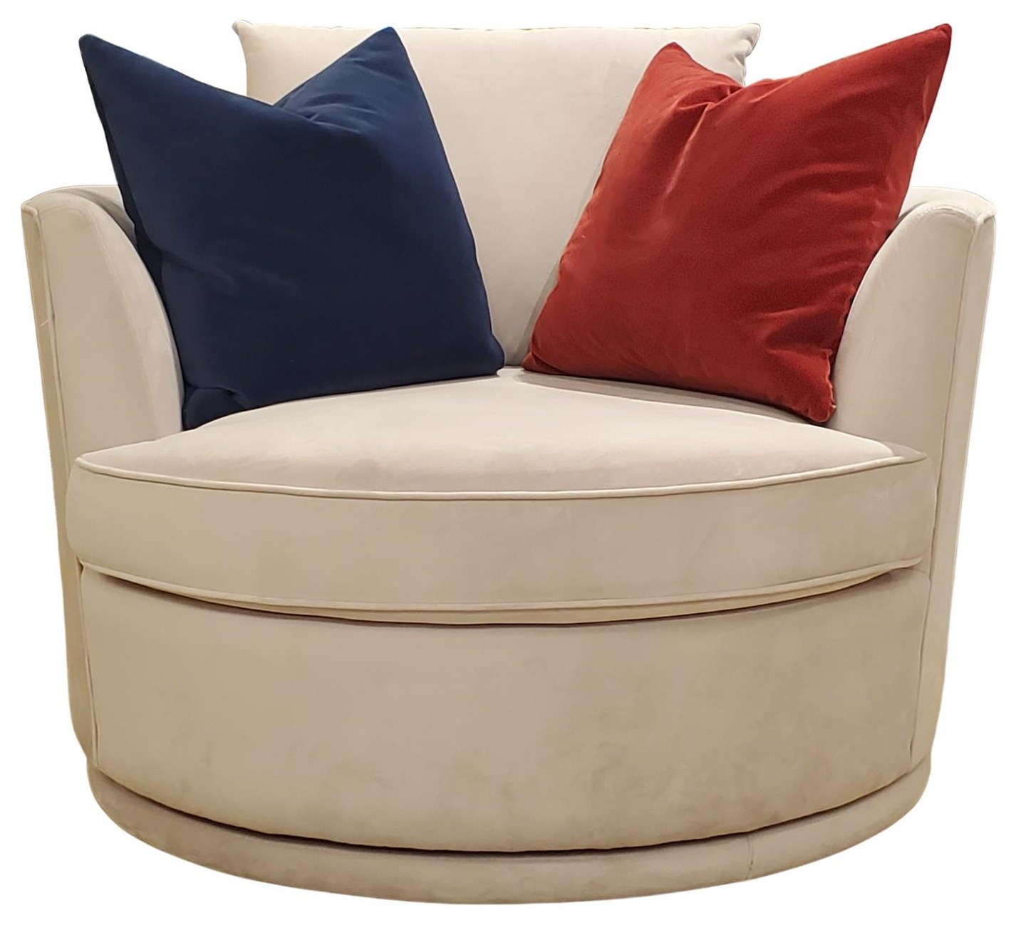"""2992 46"""" Swivel Chair by Decor-Rest at Upper Room Home Furnishings"""