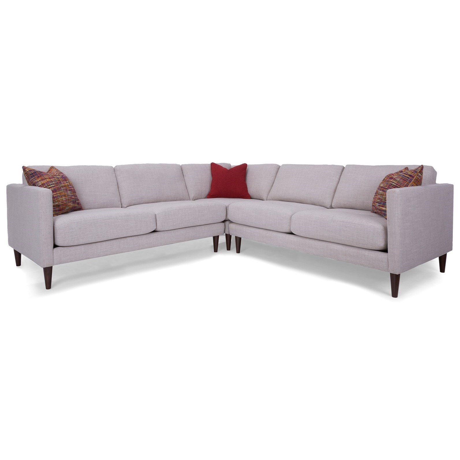 2M1 L-Shaped Sectional by Decor-Rest at Johnny Janosik
