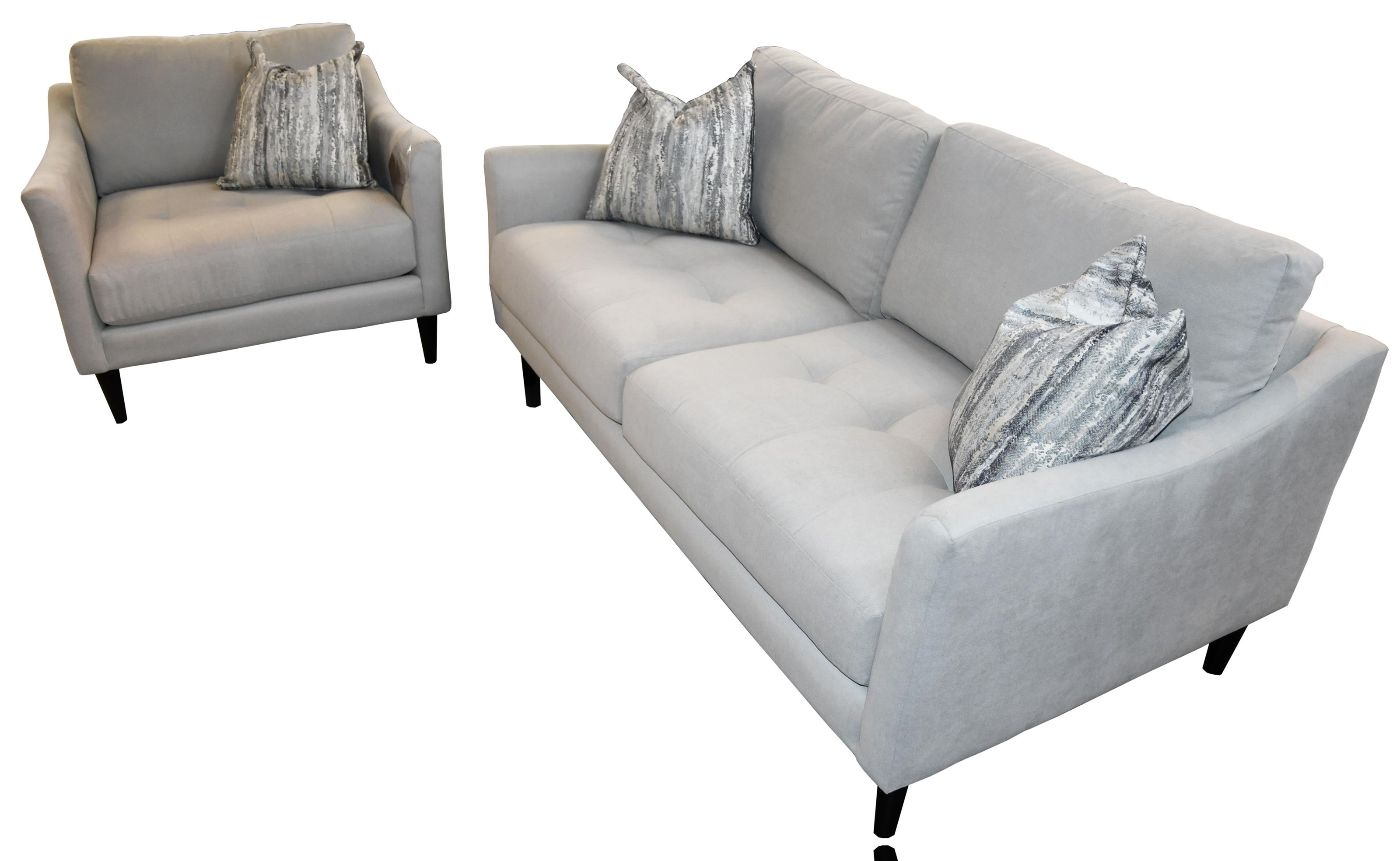 Bliss 1 Sofa & Chair by Taelor Designs at Bennett's Furniture and Mattresses
