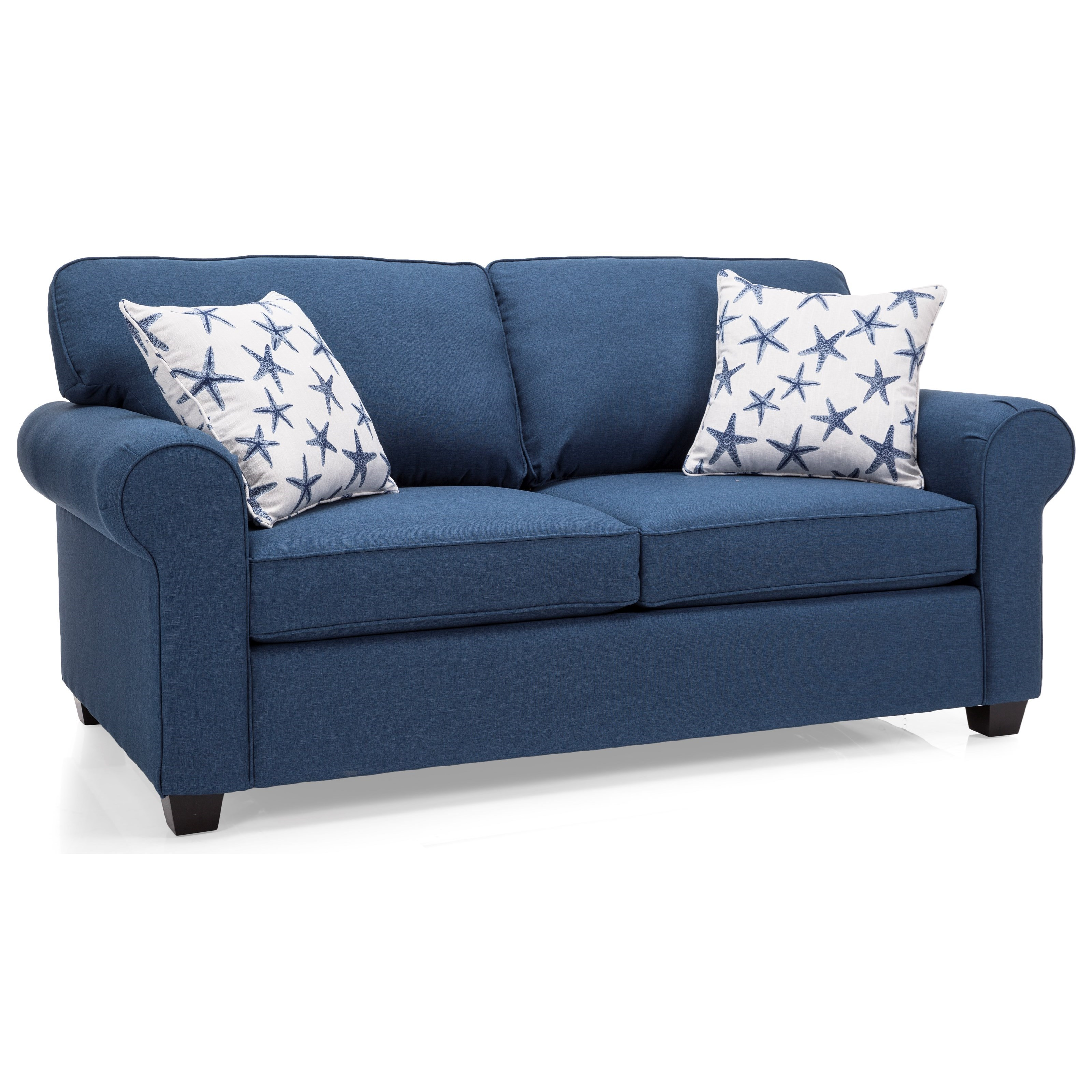 2179 Double Bed Sofa by Decor-Rest at Reid's Furniture