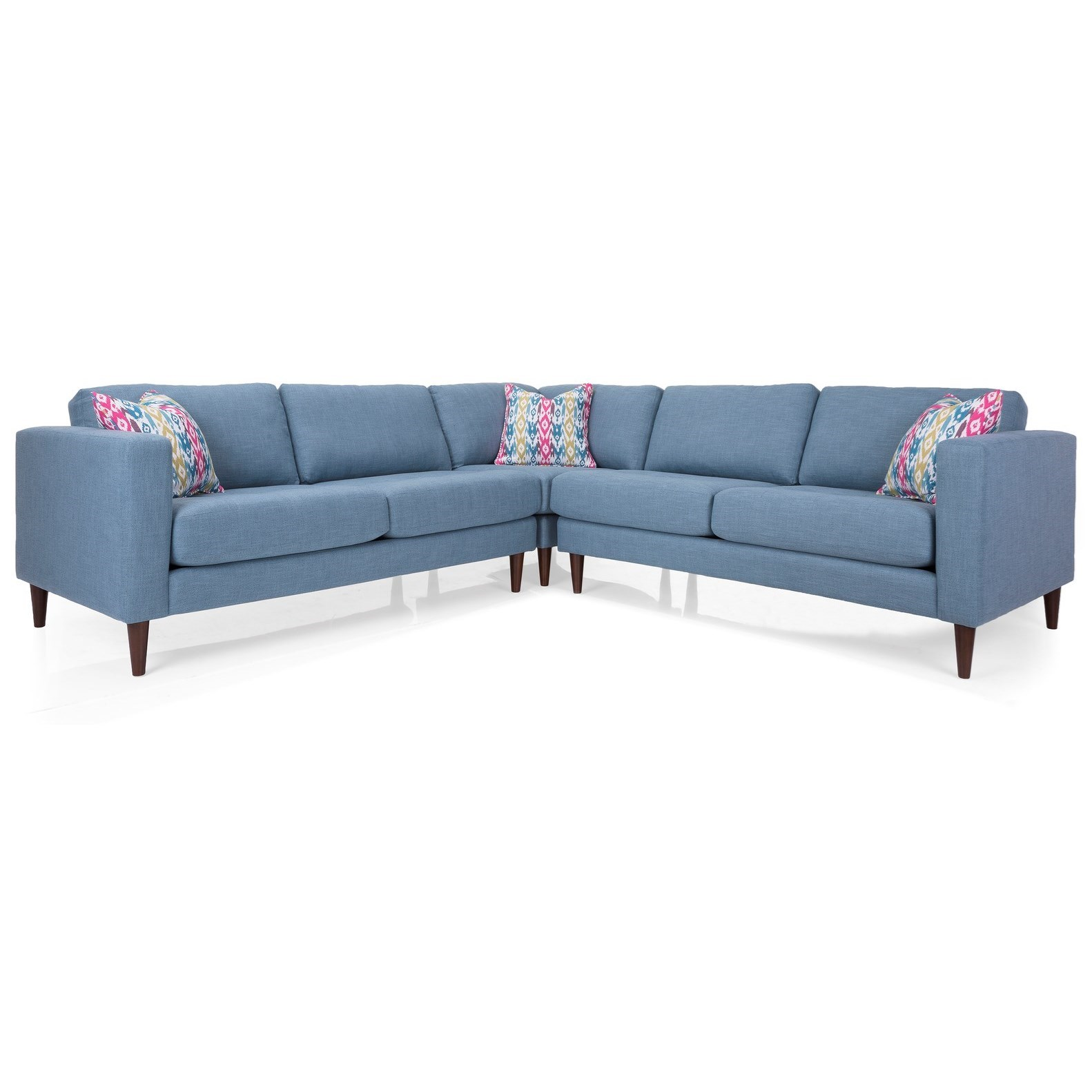 3795 Sectional Sofa by Decor-Rest at Upper Room Home Furnishings