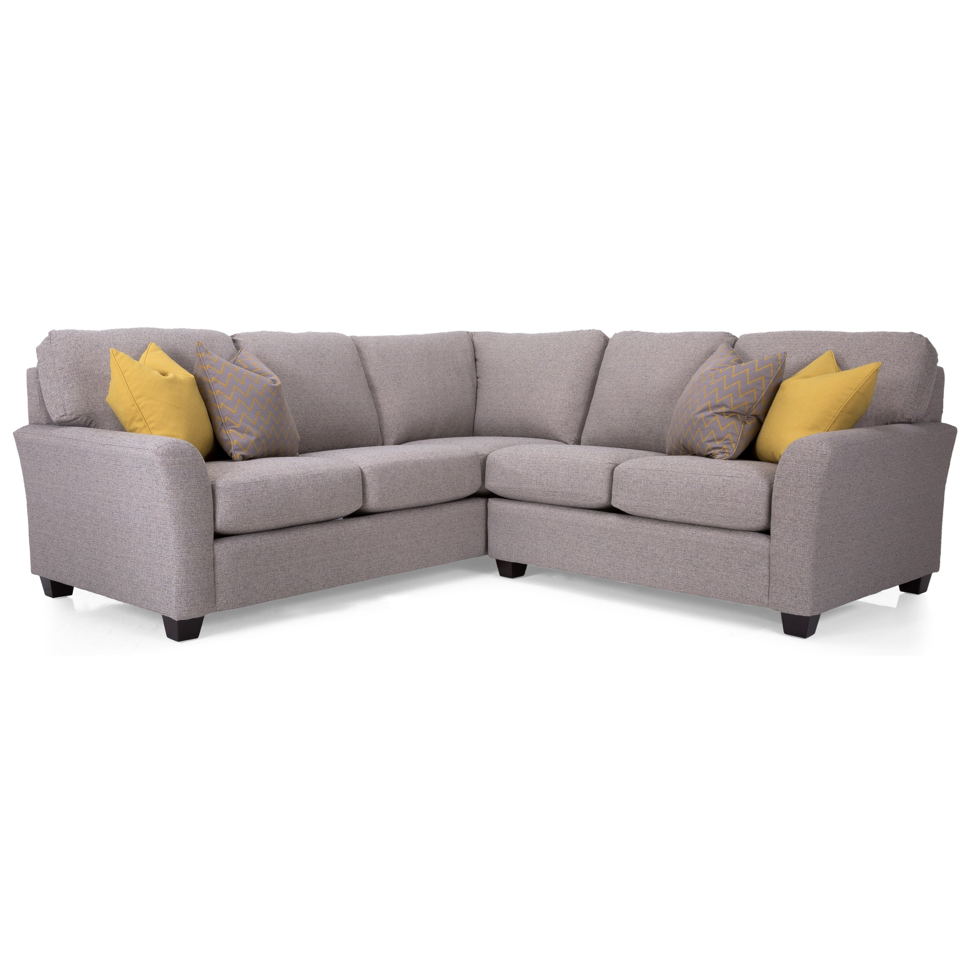 Alessandra Connections Sectional Sofa by Decor-Rest at Fine Home Furnishings
