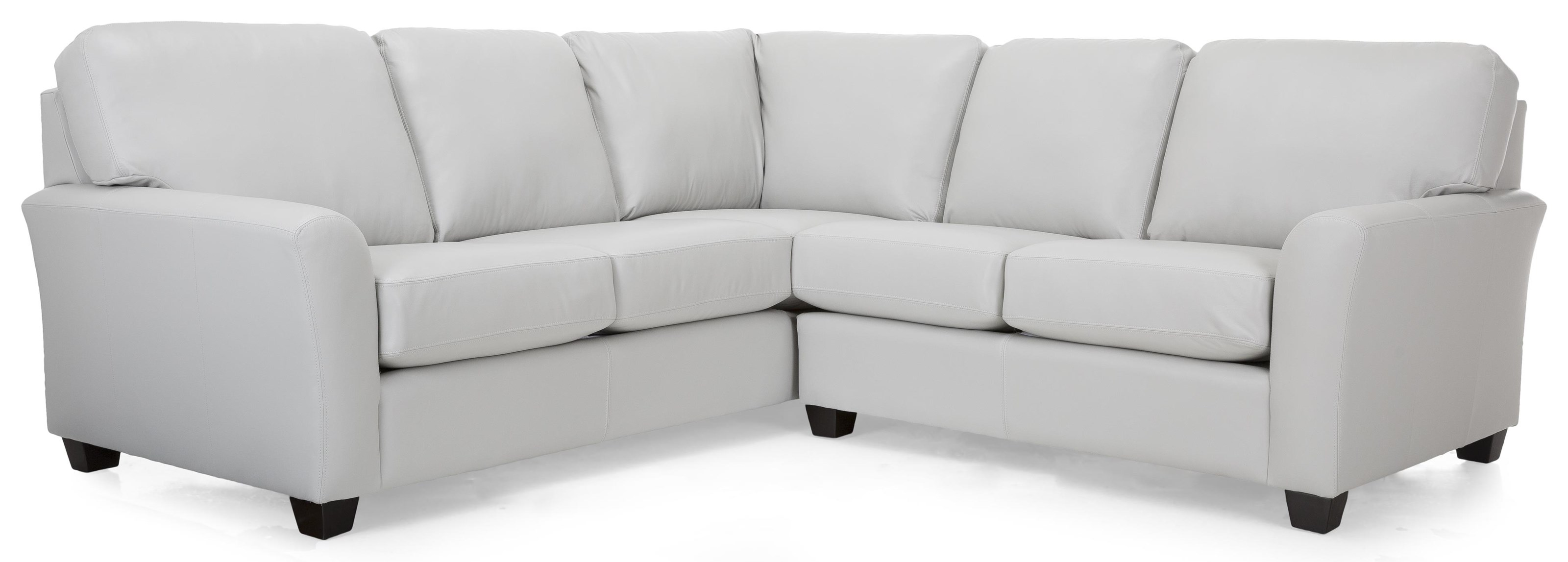 Garth Leather Sectional by Taelor Designs at Bennett's Furniture and Mattresses