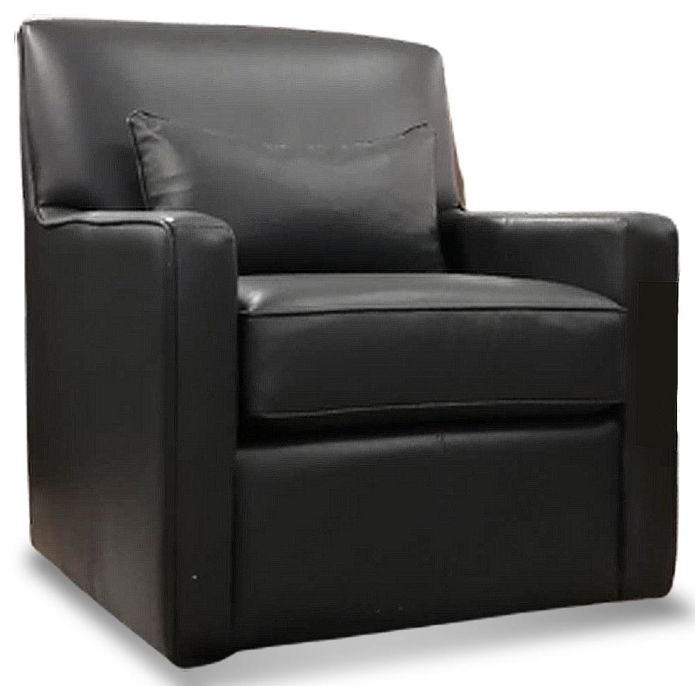 7343 Leather Chair by Decor-Rest at Upper Room Home Furnishings