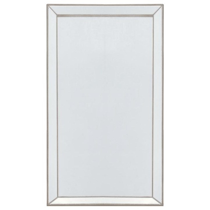 Accent on Home Mirrors Bellaggio Floor Mirror by Decor-Rest at Stoney Creek Furniture