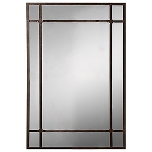 Bologna Antiqued Metal Wall Mirror