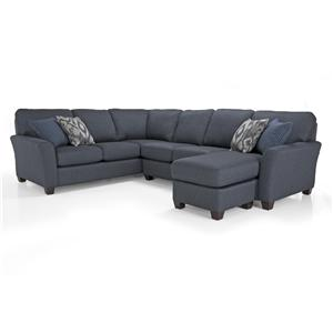 Contemporary LHF Chaise Sectional