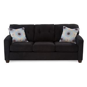 Track Arm Sofa w/ Tapered Legs