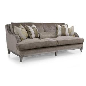 Loveseat w/nailhead trim
