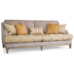 Collage Sofa w/ Nailhead Trim