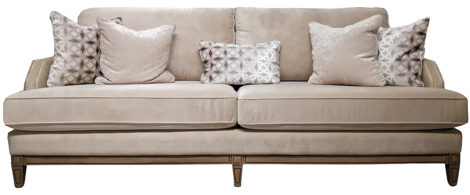 6251 Series 6251S in A:Dynamic Plain Ivory | Sofa, NH: G by Decor-Rest at Upper Room Home Furnishings