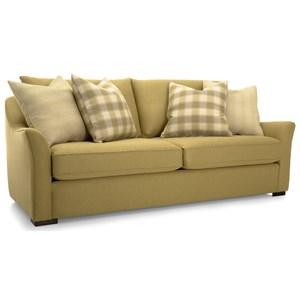 Modern Flared Track Arm Sofa