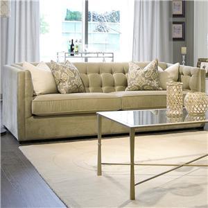Tuxedo Tufted Sofa