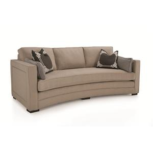 Conversation Sofa with Nailhead Trim