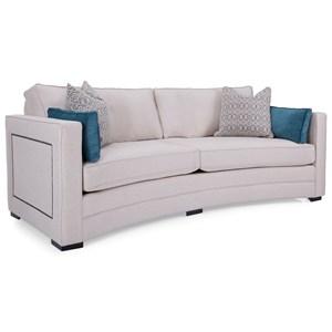 Conversation Sofa with Nailhead Trim