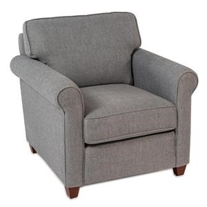 Roll-Arm Accent Chair