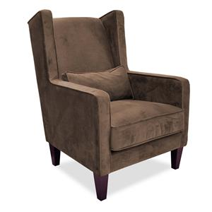 Maxwell Upholstered Wing Chair