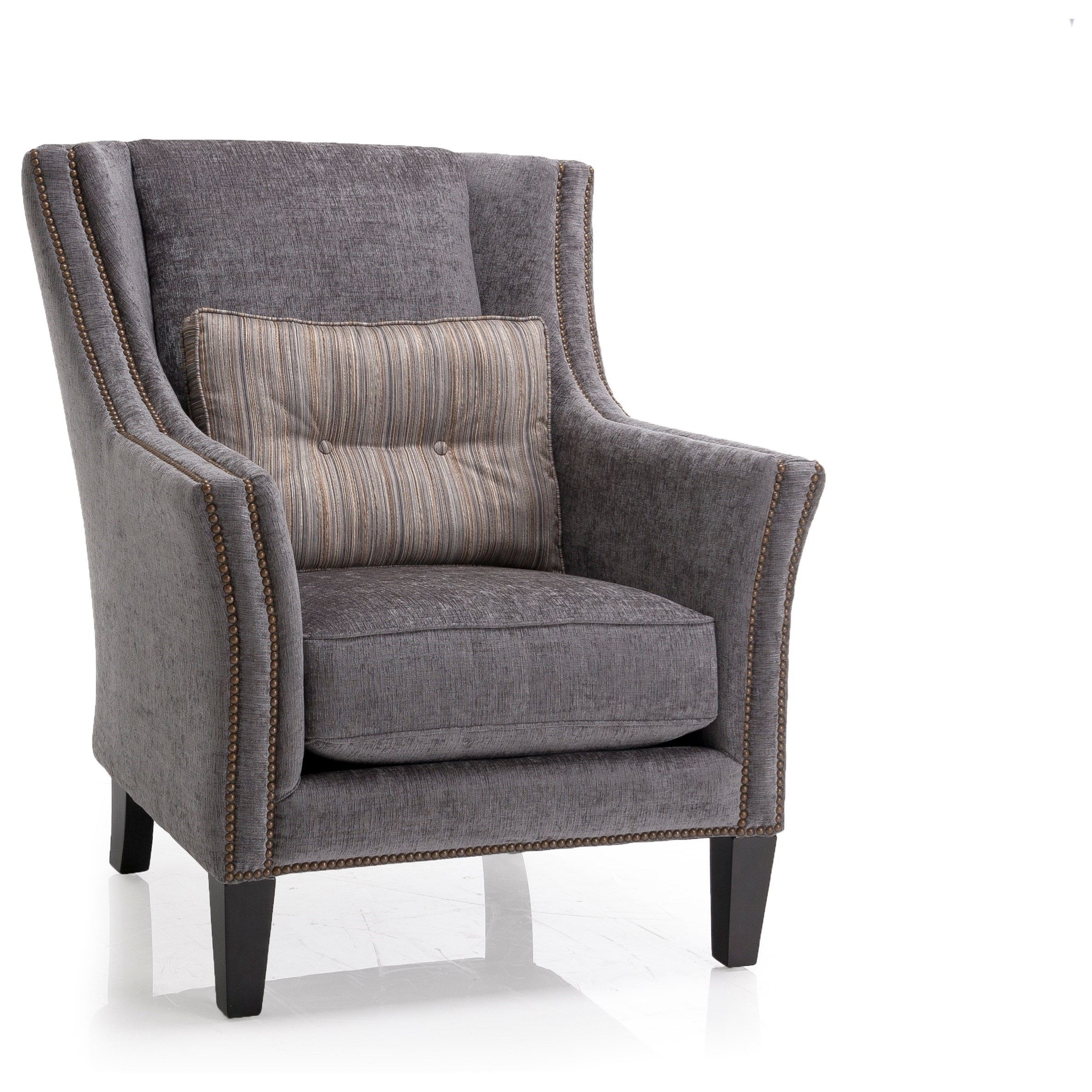 Upholstered Accents Track Arm Chair by Decor-Rest at Stoney Creek Furniture