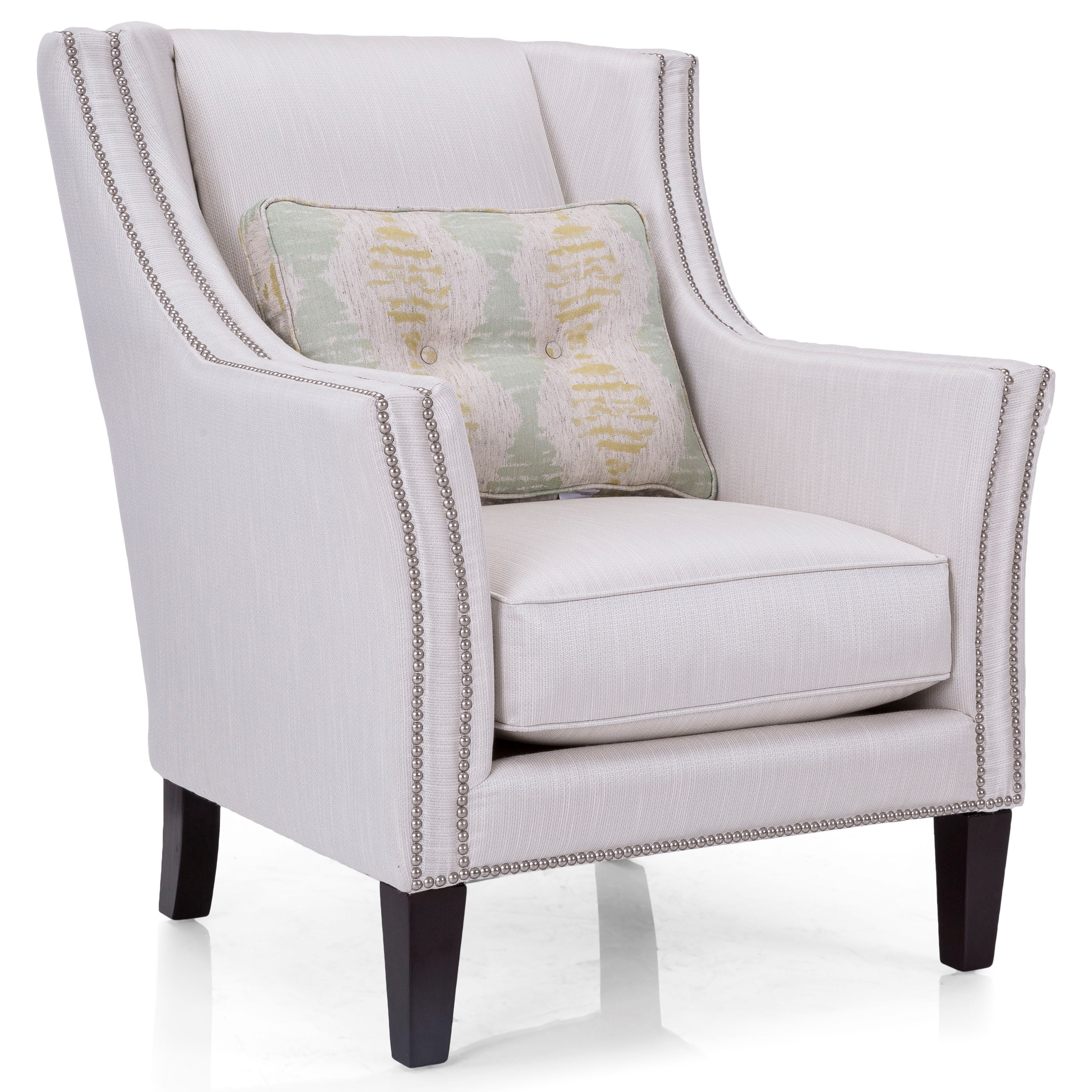 Upholstered Accents Track Arm Chair by Decor-Rest at Johnny Janosik