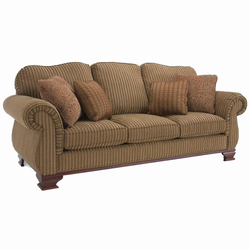 Upholstered Accents Traditional Sofa by Decor-Rest at Johnny Janosik