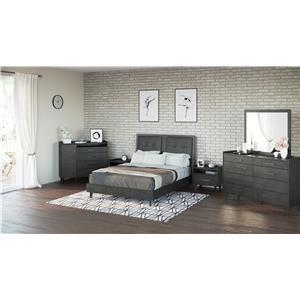 4 PC Biltmore Bedroom- Queen Bed, Dresser, Mirror and Nightstand